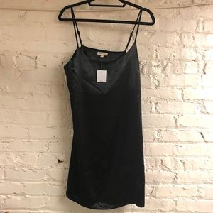 NWT Urban Outfitters Black Slip Dress